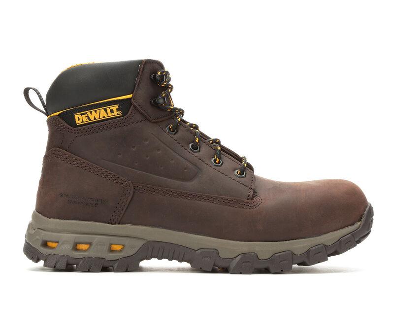 Image of Men's Dewalt Safety Footwear Halogen 6 Inch Aluminum Toe Work Boots (Brown - Size 10)