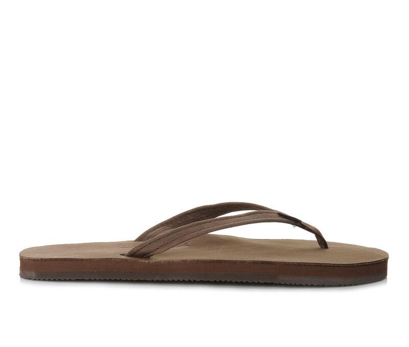 Women's Rainbow Sandals Single Layer Premier Leather -301ALTSN