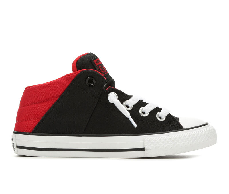 Image of Boys' Converse Little Kid & Big CTAS Axel Sneakers (Black - Size 1 - )