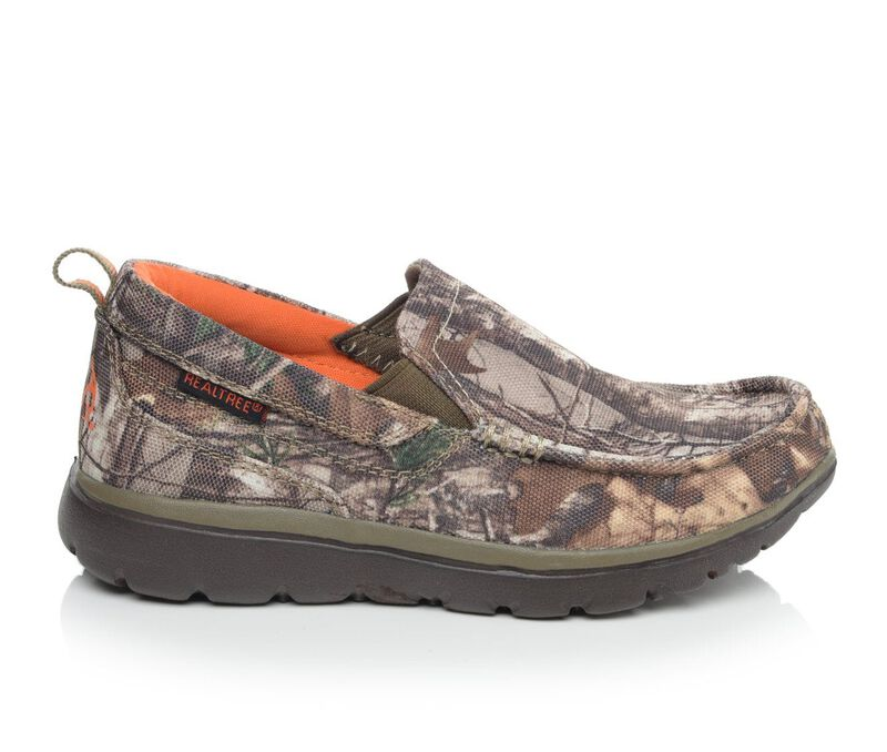 Image of Boys' Realtree Little Kid & Big Montgomery Jr Sneakers (Green - Size 2 - )