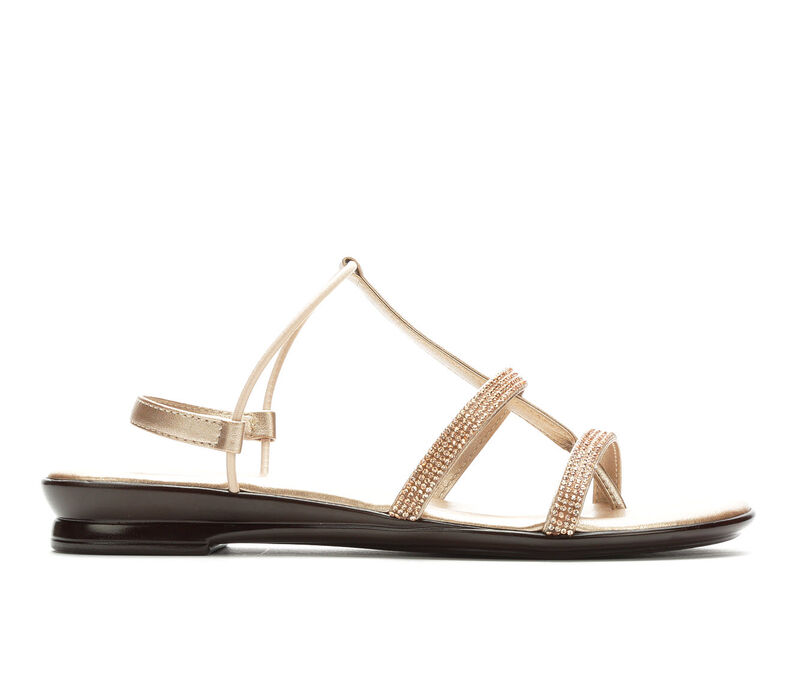 Image of Women's Italian Shoemakers Marisa Sandals (Gold - Size 7)