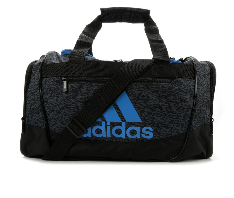 Image of Women's Adidas Defender III Small Duffel Bag (Grey - Size UNSZ)