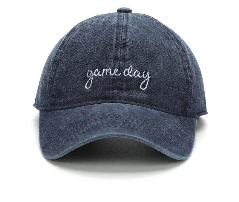 Image of Women's David and Young Game Day Baseball Cap (Blue - Size UNSZ)