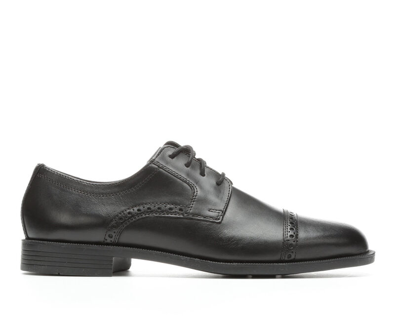 Image of Men's Cole Haan Dustin Brougue II Oxford Shoes (Black - Size 10)