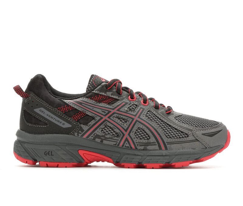 Image of Boys' ASICS Little Kid & Big Gel-Venture 6 Running Shoes (Grey - Size 1 - )