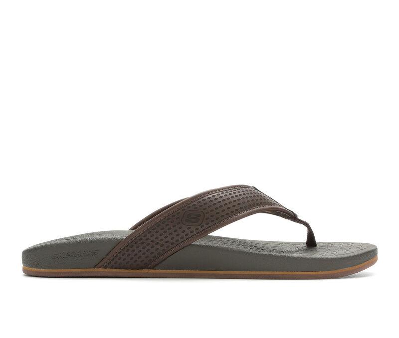 0b0b2e695ec4 Men s Skechers Emiro 65093 Sandals (Brown - Size ...
