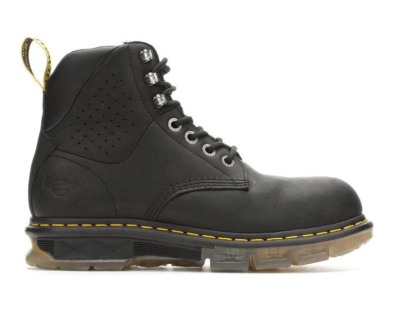 Image of Men's Dr. Martens Industrial Britton Steel Toe Boots (Black - Size 10)