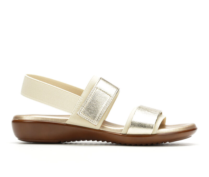 Image of Women's Italian Shoemakers Dacey Sandals (Gold - Size 10)