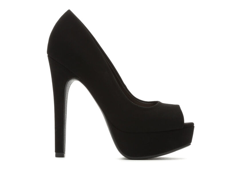 Image of Women's Delicious Backup Dress Shoes (Black - Size 10)