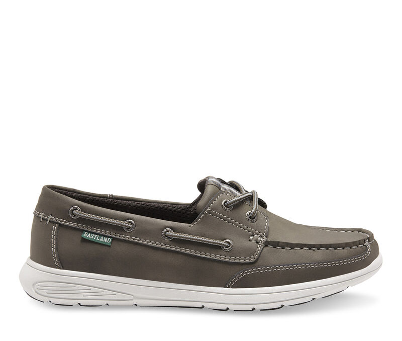 Image of Men's Eastland Benton Boat Shoes (Grey - Size 10)