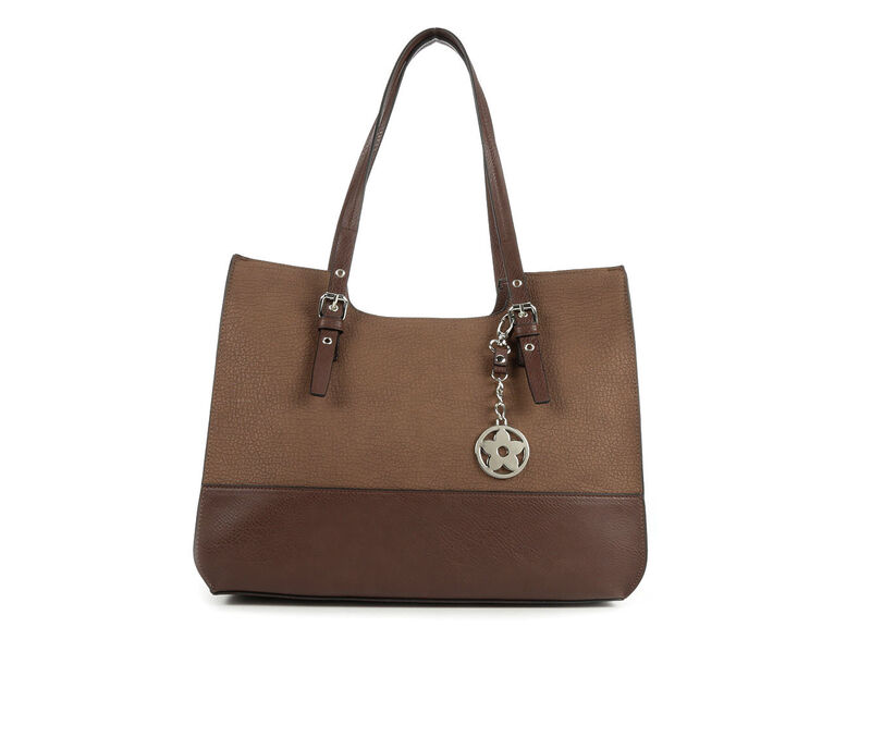 Image of Women's Bueno Of California Grained Pebble Crossbody (Brown - Size UNSZ)