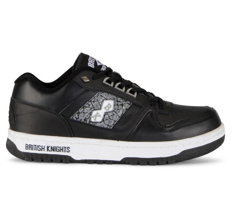 Image of Men's British Knights Kings SL Low Sneakers (Black - Size 10)