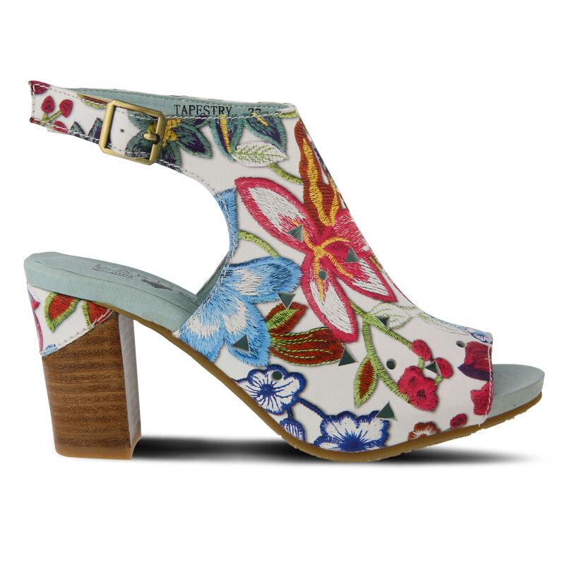 Women's L'ARTISTE Tapestry Sandals