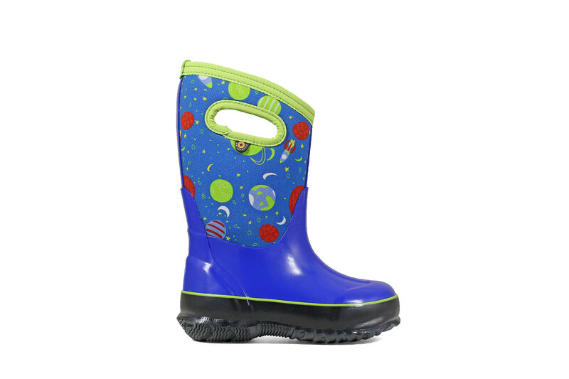 Image of Bogs Footwear Classic Space Children's Shoes (Blue - Size 10 Toddler)
