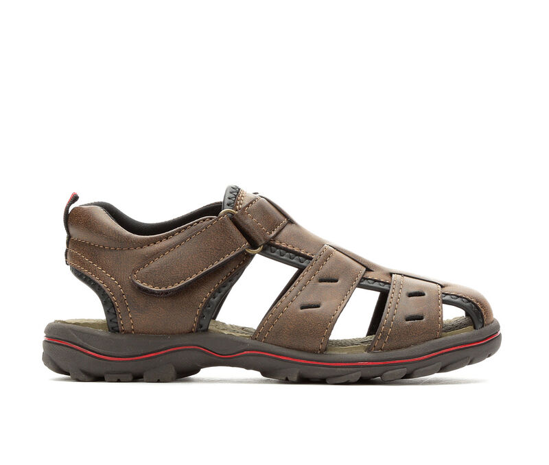 Image of Boys' Beaver Creek Little Kid & Big Keith Sandals (Brown - Size 1 - )