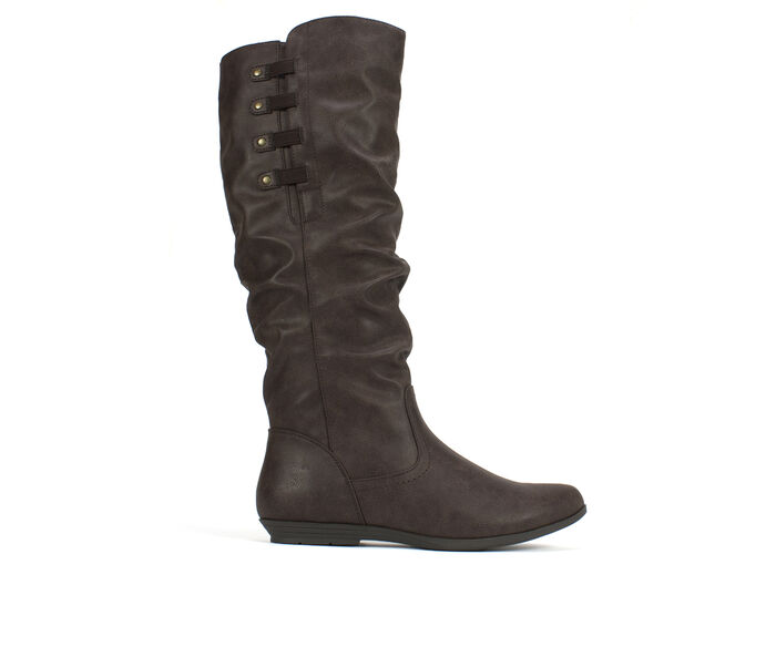 Women's Cliffs Francie Ruched Knee High Boots