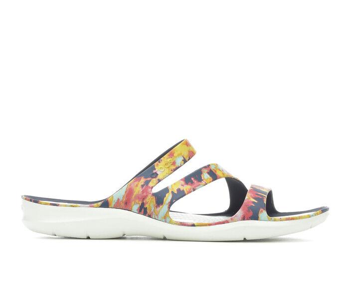 Women's Crocs Swiftwater Tie Dye Sandals