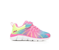 Girls' Fila Toddler Fraction Strap Athletic Shoes