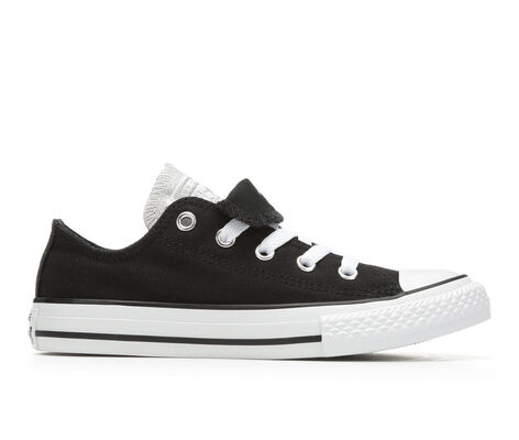 Girls' Converse Chuck Taylor Double Tongue Metallic 11-6 Sneakers