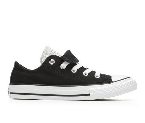 Girls' Converse Chuck Taylor Double Tongue Metallic 11-6 Sneakers