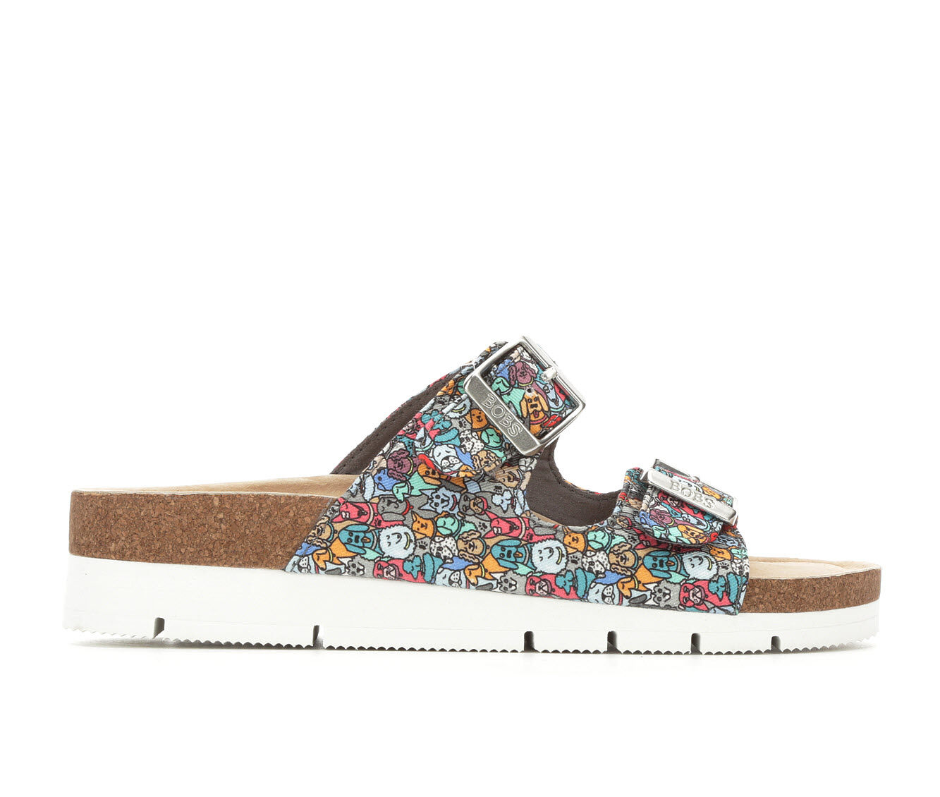 Women's BOBS Bobs Bohemian 32681 Footbed Sandals Multi