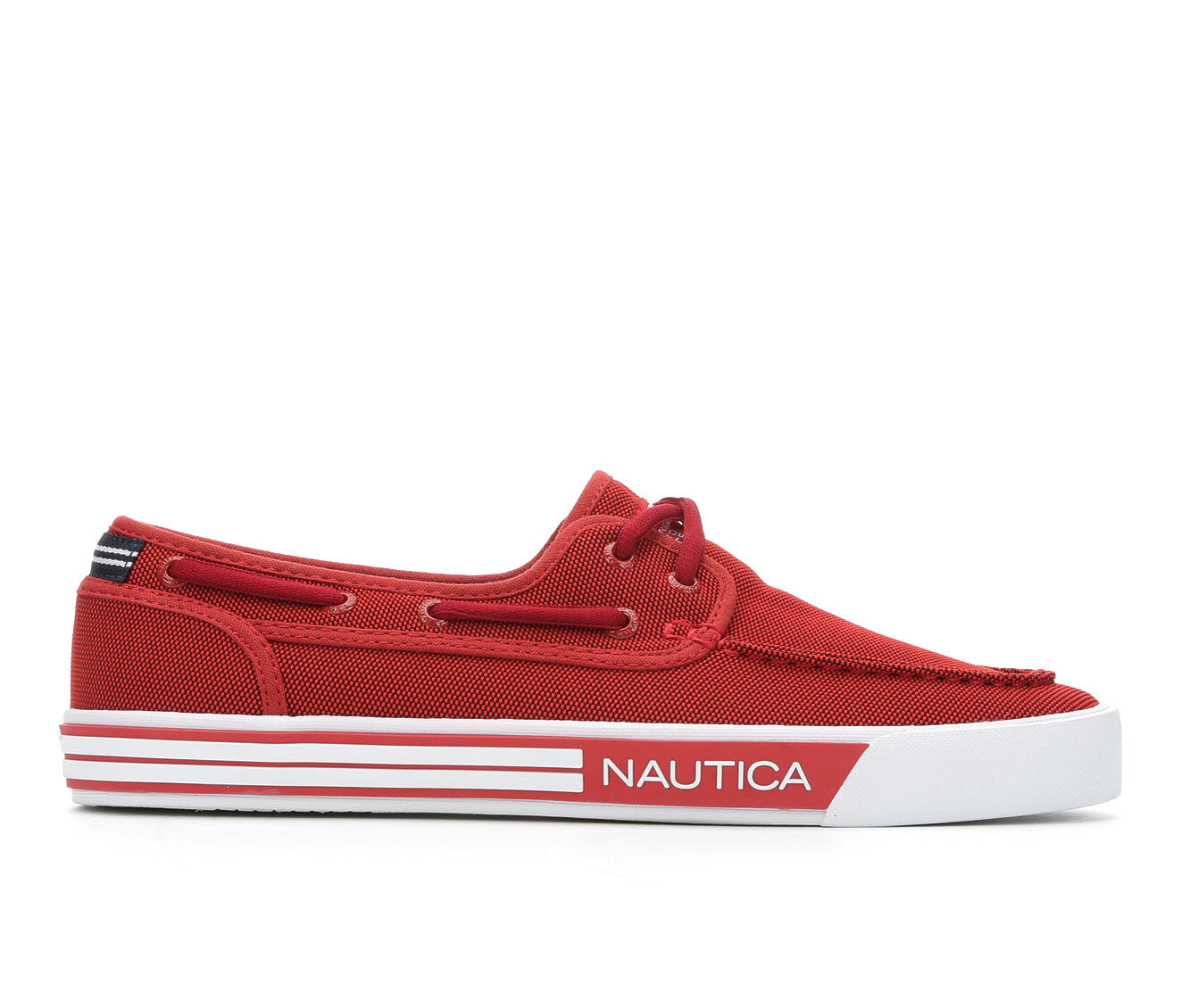 Men's Nautica Spinnaker Casual Shoes Red Knit