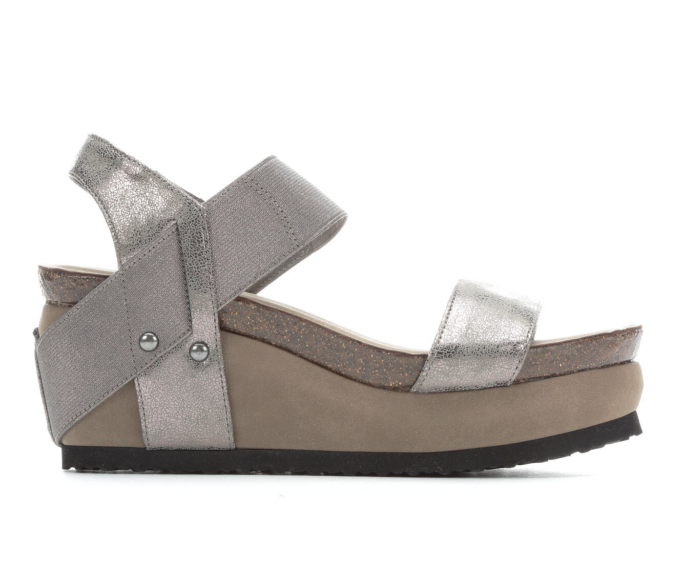 Women's Axxiom Ellen Sandals New Pewter
