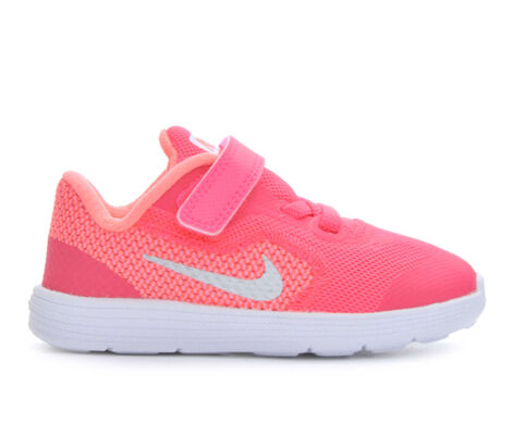nike shoes white for girls. girls\u0026#39; nike infant revolution 3 girls running shoes white for /