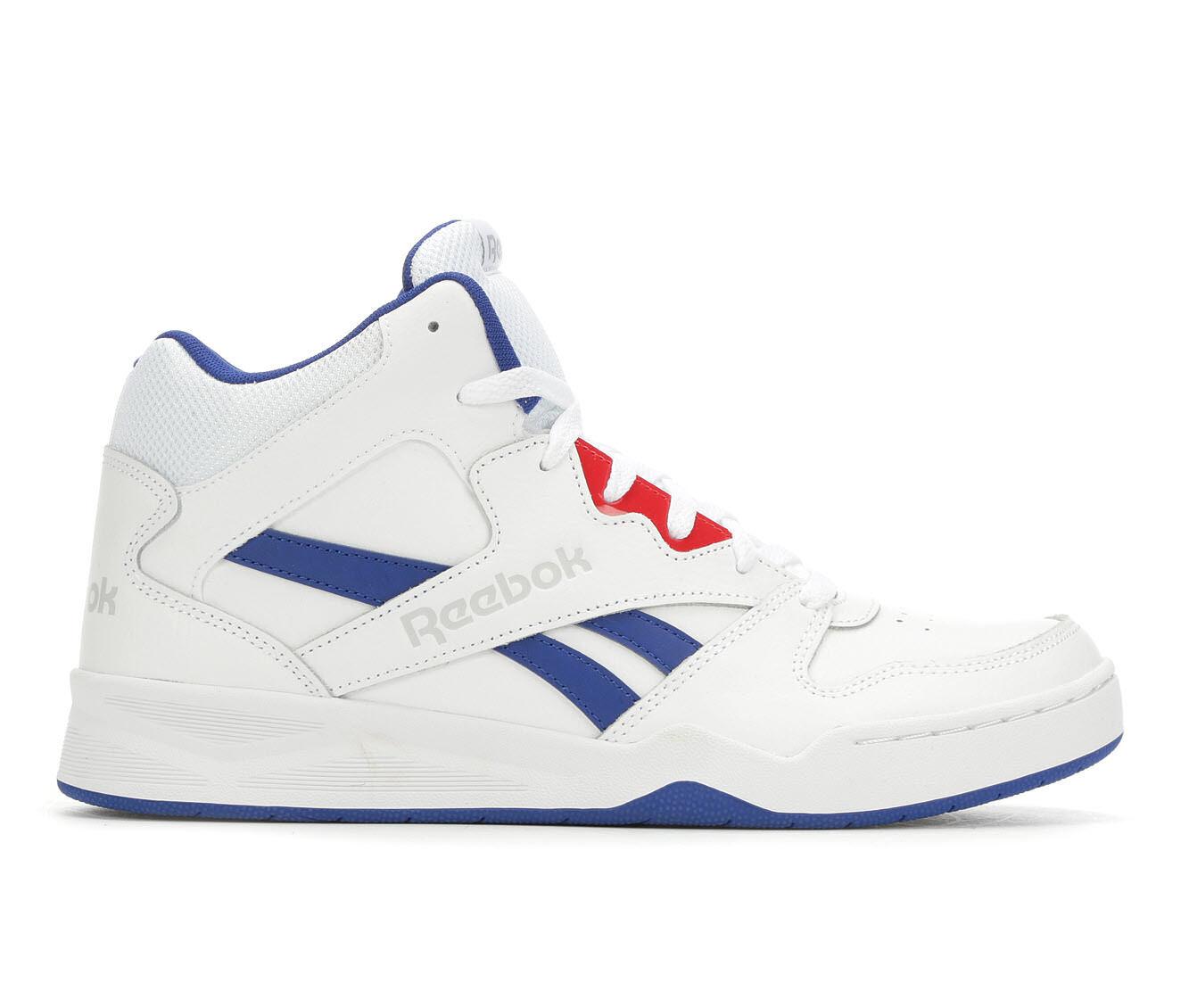 Superior Quality Men's Reebok Royal BB4500 HI2 Retro Sneakers Wht/Blu