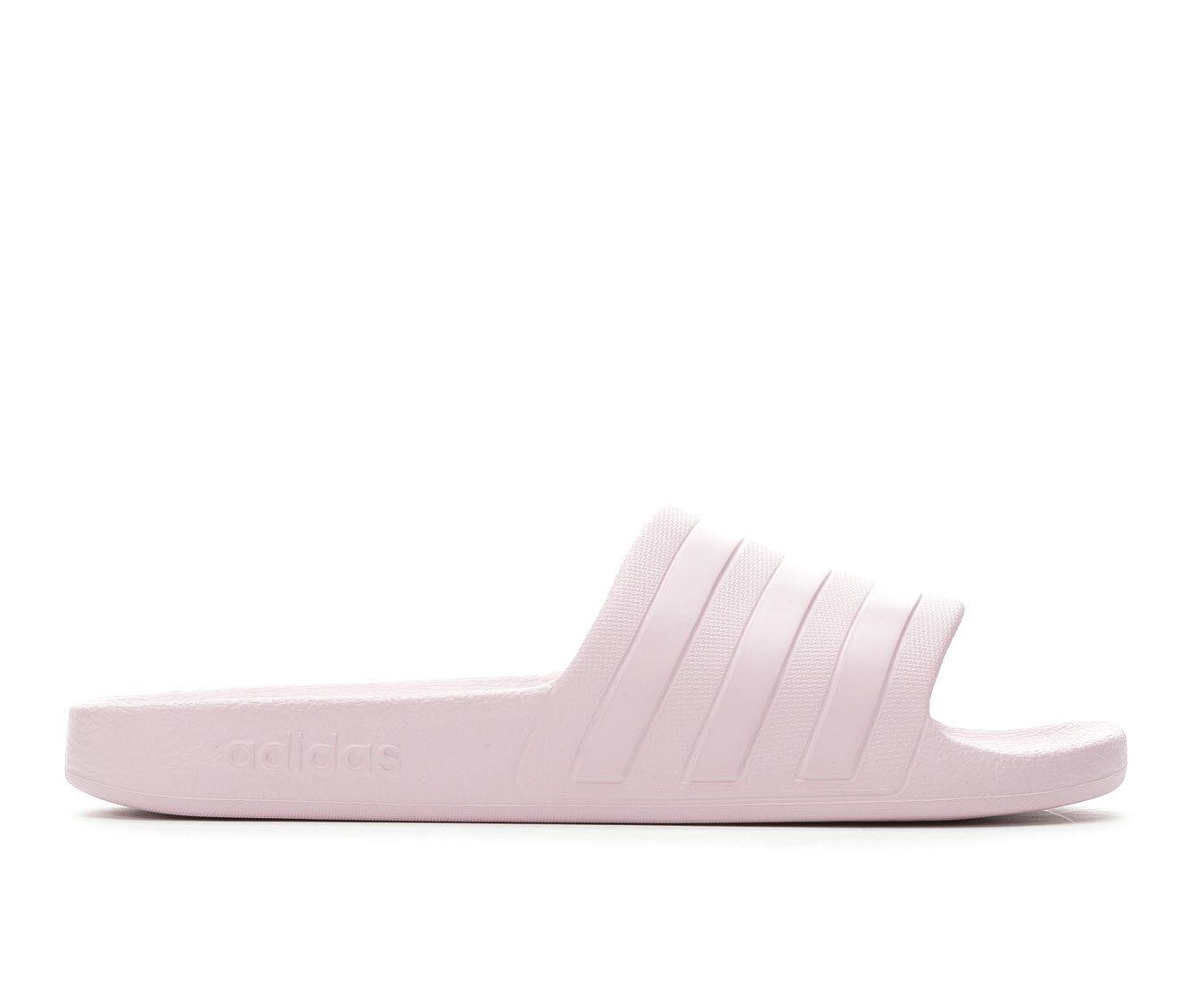 Women's Adidas Adilette Aqua Slides Aero Pink