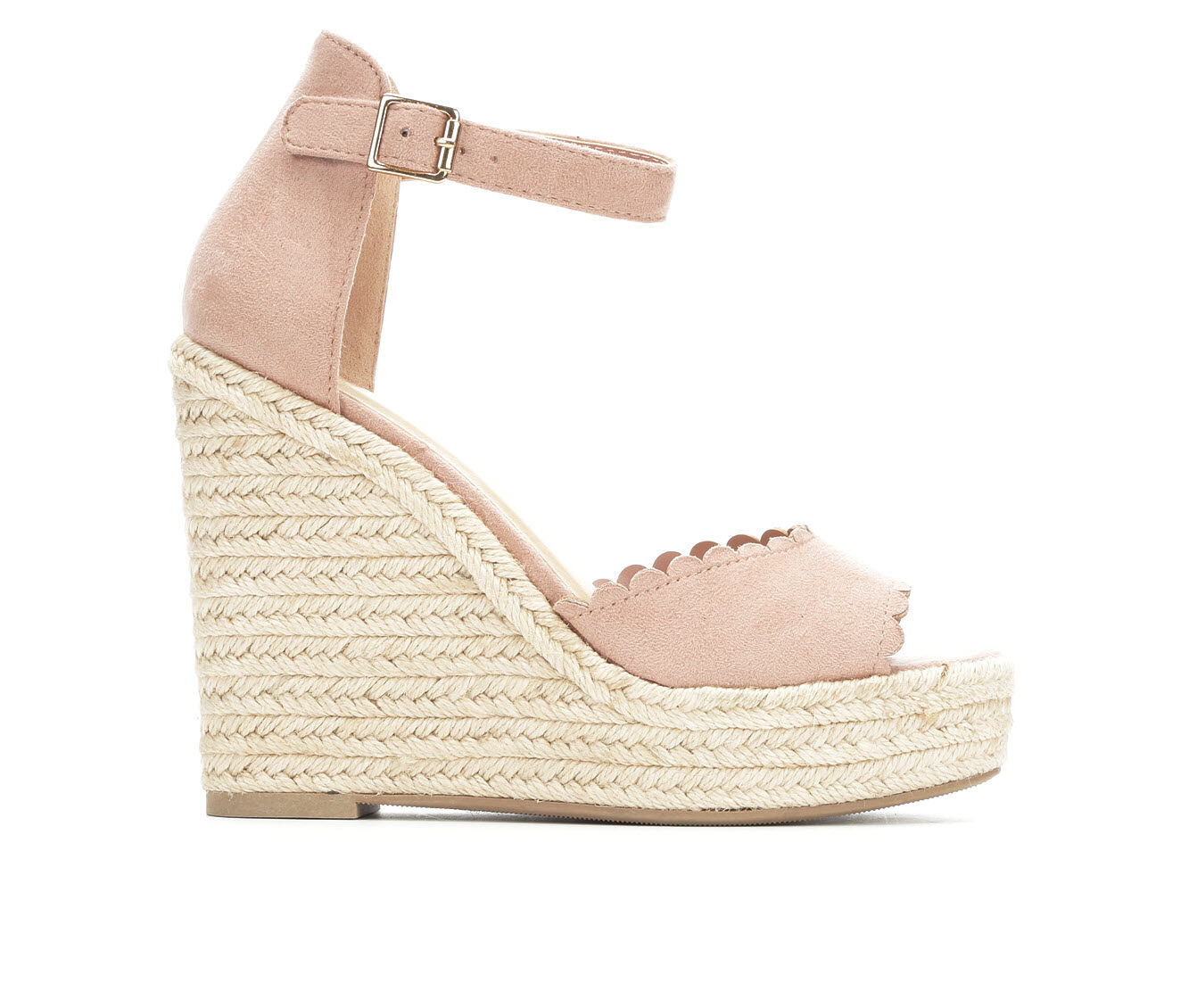Women's Y-Not Herald Wedge Sandals Blush