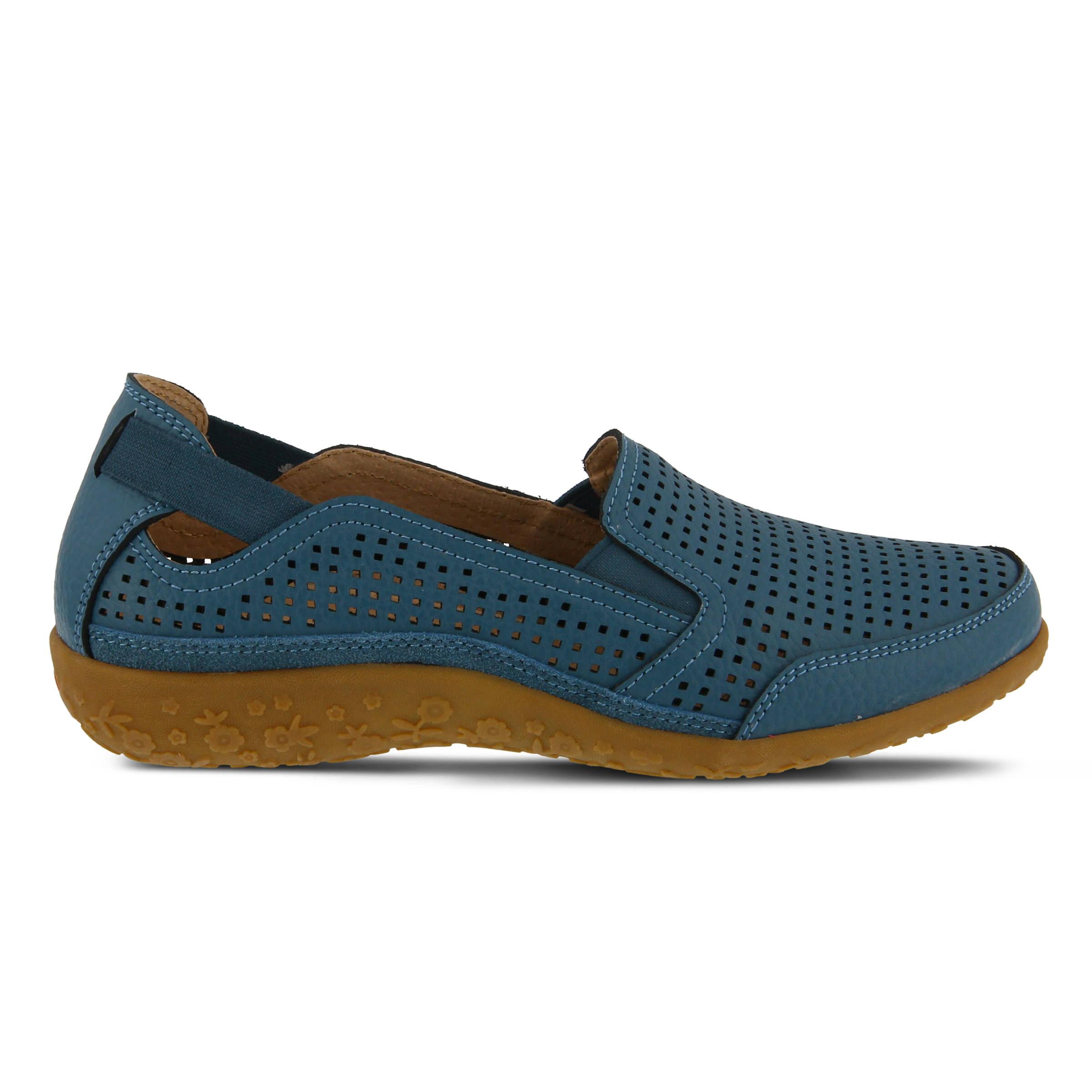 Women's SPRING STEP Juhi Slip-Ons Blue