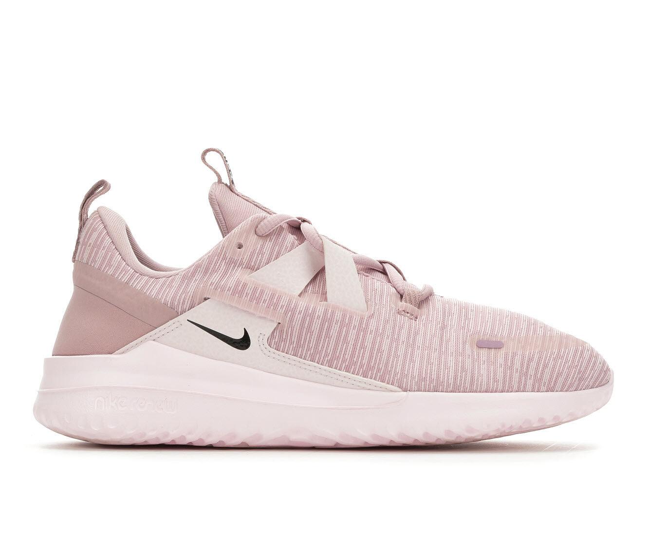 Women's Nike Renew Arena Running Shoes Plum/Black/Pink