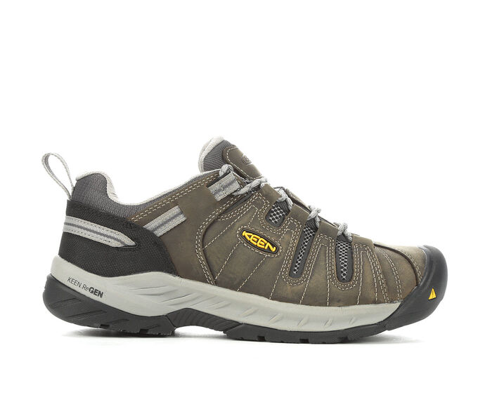 Men's KEEN Utility Flint II Low Steel Toe Work Shoes