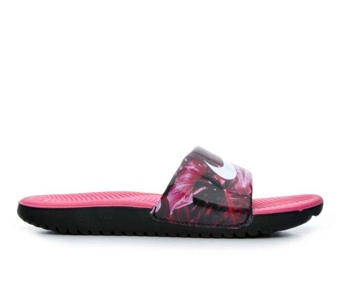 Girls' Nike Kawa Slide Print 2 Girls 11-7 Sport Slides