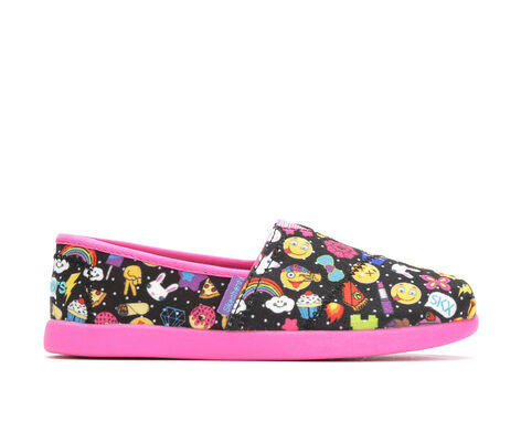 Girls' Skechers Solestice Emoji 10.5-4 Casual Shoes