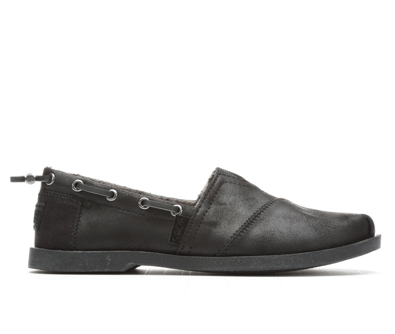 Women's BOBS Buttoned Up 33731 Slip-Ons Black