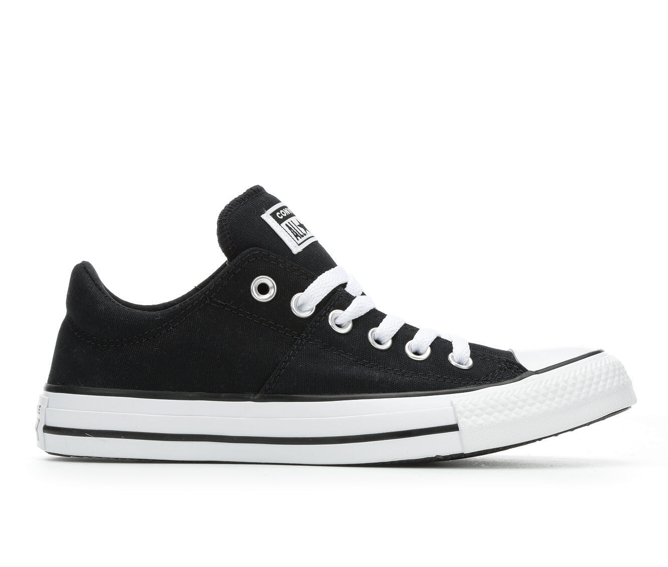 Women's Converse Madison Ox Sneakers Black/Wht/Blk