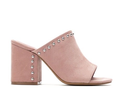 Women's Madden Girl Ward Heeled Mules