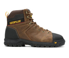 "Men's Caterpillar Wellspring Waterproof Metguard 6"" ST Work Boots"