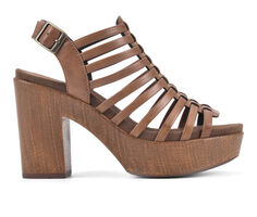 Women's White Mountain Astonish Platform Heeled Sandals