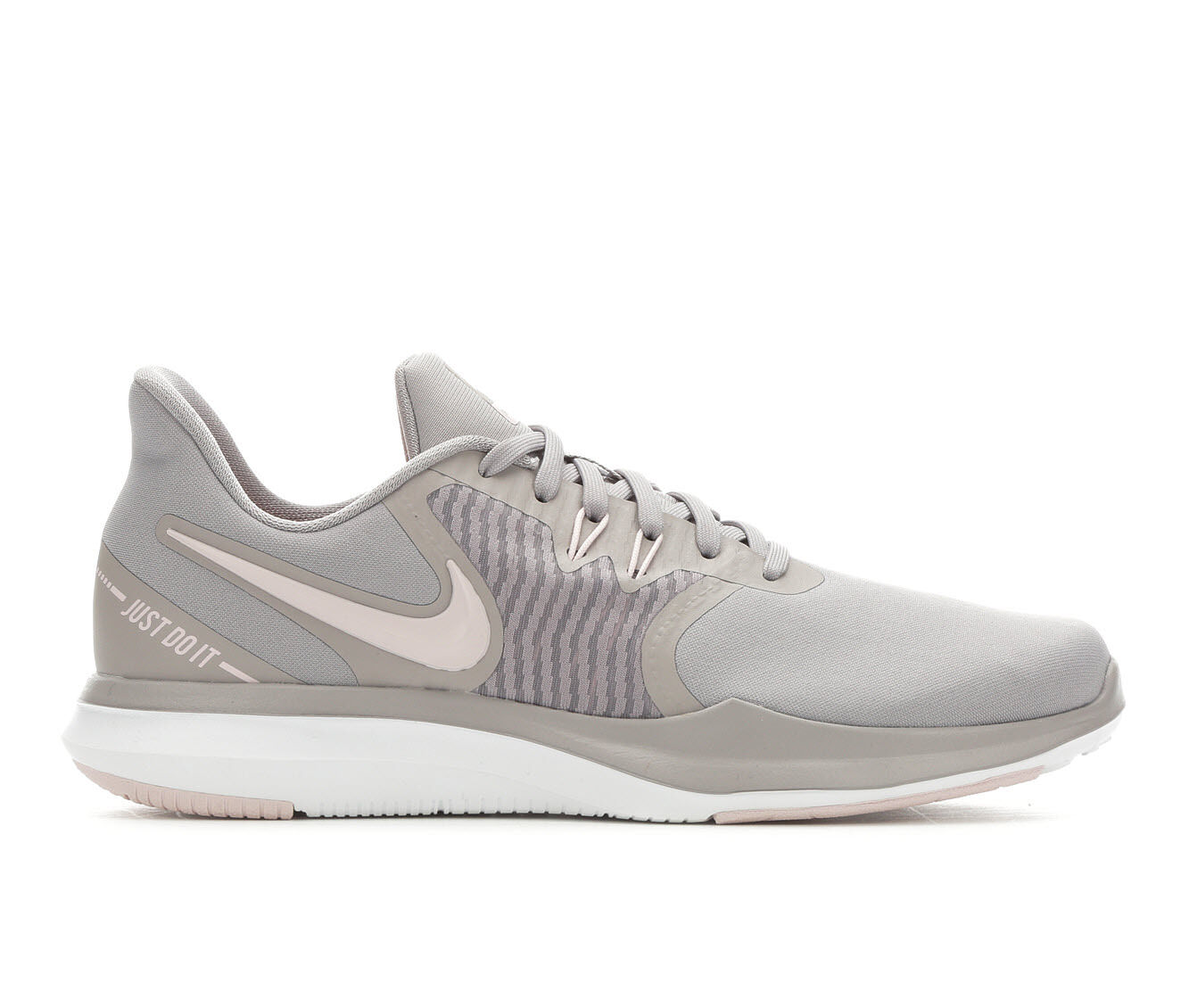 Women's Nike In-Season TR 8 Training Shoes Gry/Barely Rose