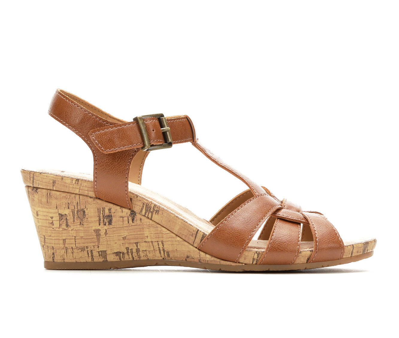 summer offer Women's B.O.C. Jaquet Wedges Tan