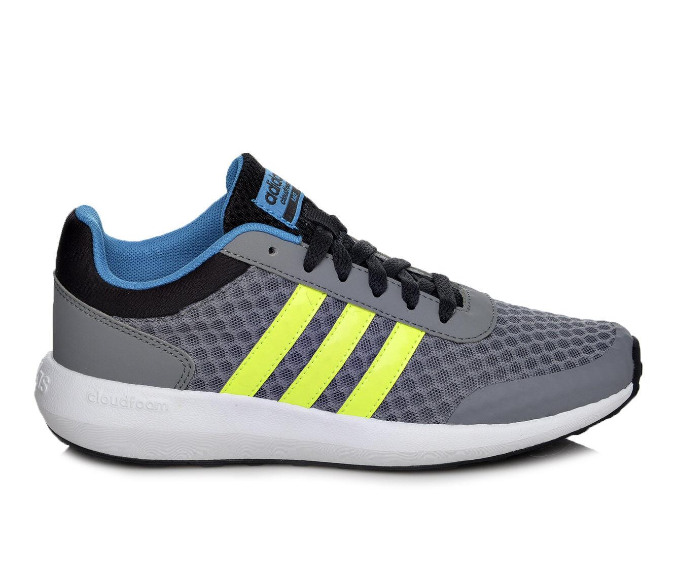 Boys\u0026#39; Adidas Adidas Cloudfoam Race K 10.5-7 Running Shoes