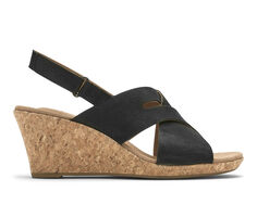 Women's Rockport Briah Slot Sling Wedge Sandals