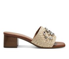 Women's Aerosoles Raffia Slip-On Dress Sandals