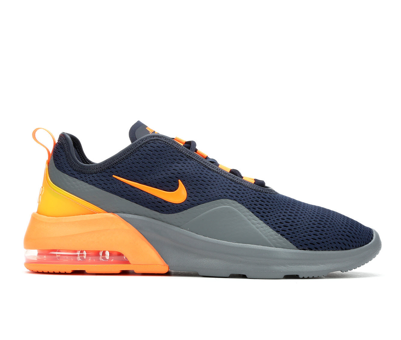 Men's Nike Air Max Motion 2 Sneakers Obsid/Gy/Org