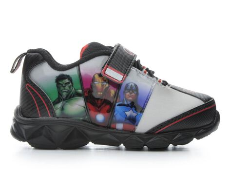 Boys' Marvel Lighted Avengers 3 7-12 Light-Up Shoes