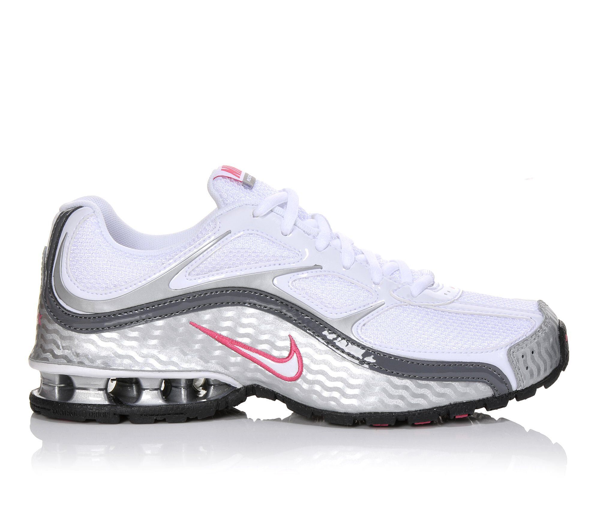 Get The Latest Women's Nike Reax Run 5 Running Shoes Wht/Pink/Silver