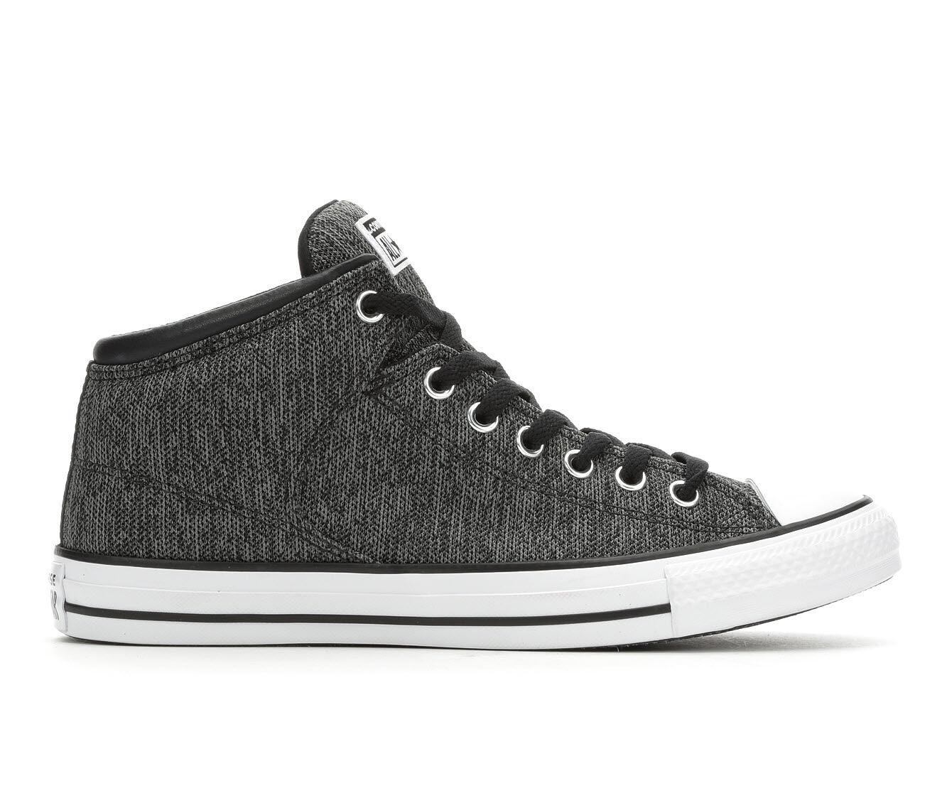 Men's Converse CTAS Hi St Varsity Sneakers Black/Mason/Wht